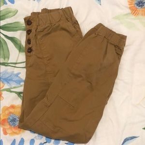 FREE PEOPLE NWOT Cadet PullOn Joggers